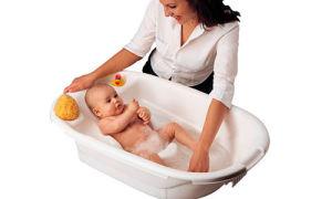 Правильное купание новорожденного ребенка