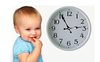 Правильный распорядок дня грудничка и мамы по месяцам