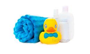 Средства для купания новорожденных деток