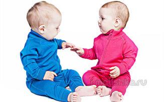 Детское термобелье из шерсти мериноса — отличное решение!