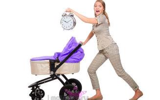Режим дня новорожденного в первый месяц