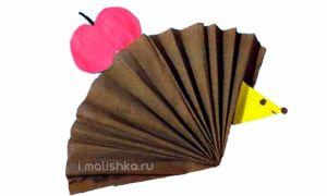 Как сделать ёжика из цветной бумаги своими руками: поэтапная инструкция с фото