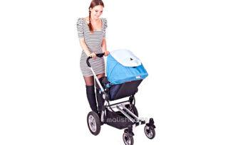 Первая прогулка с новорожденным ребенком