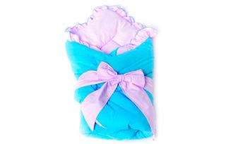 Летний конверт одеяло на выписку для ребенка