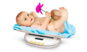 Таблица нормы прибавки веса и роста у детей