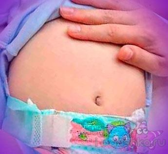 Колики и газики у новорожденного