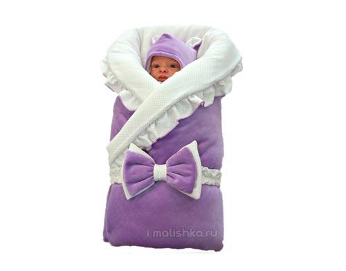 Как запеленать новорожденного ребенка в одеяло на прогулку?