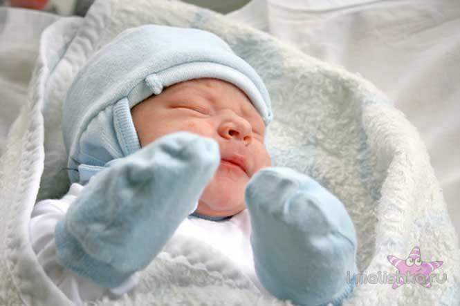 Носик новорожденного