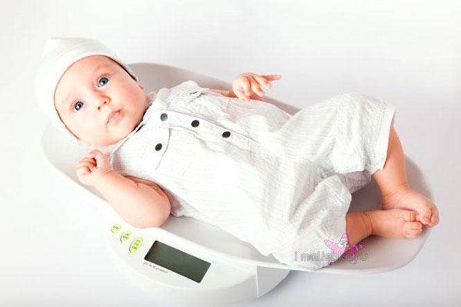 Калькулятор веса малыша