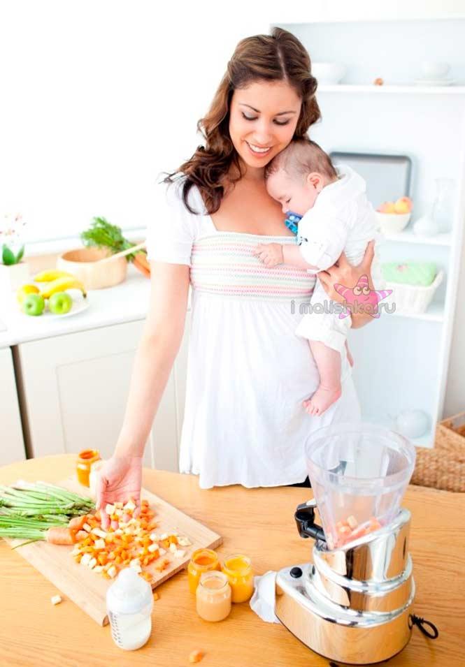 Питание мамы при газиках