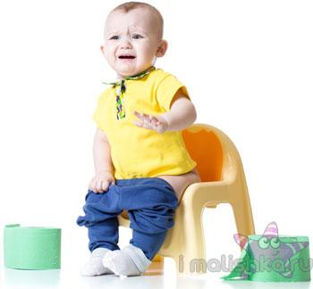 Почему ребенок боится какать?