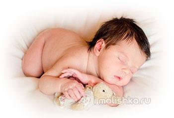 Почему новорожденный ребенок не спит?
