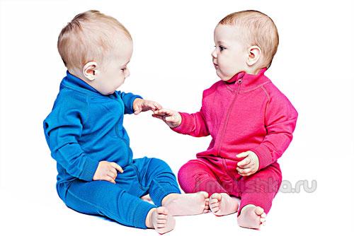 Детское термобелье из шерсти мериноса для зимы