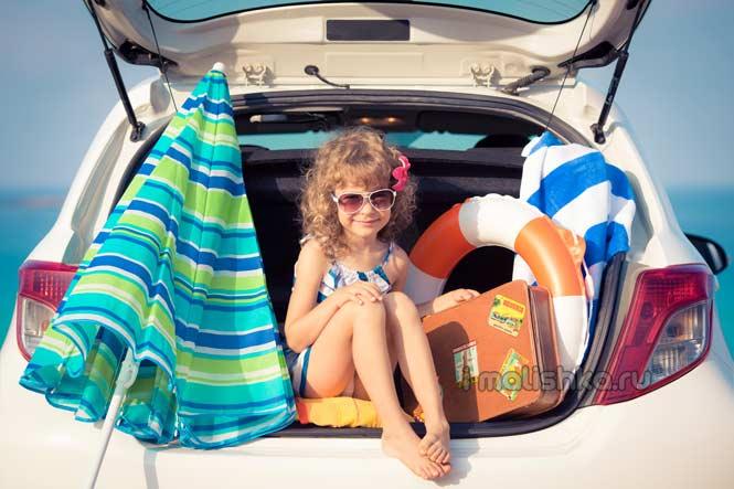 Ребенка укачивает в машине: рекомендации