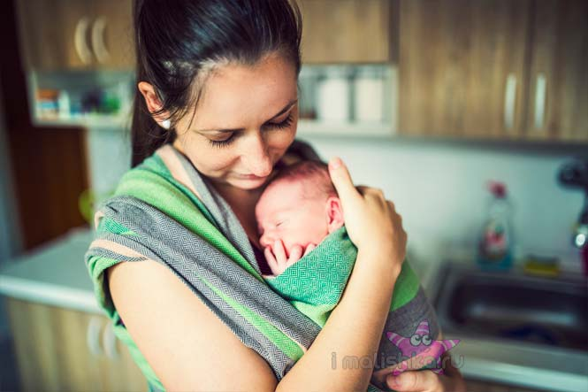 Как предотвратить слезы новорожденного