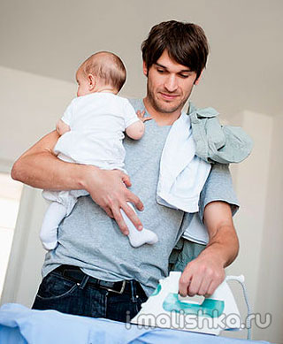 Сколько нужно гладить пеленки новорожденному?