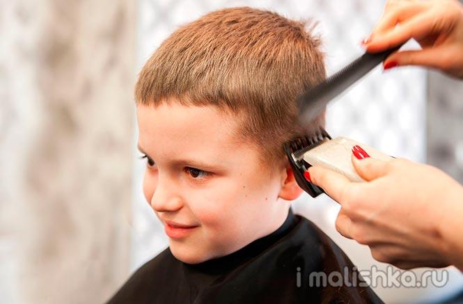 Как правильно подстричь ребенка машинкой в домашних условиях?