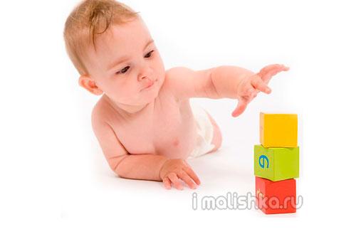 Развитие ребенка в 8 месяцев жизни