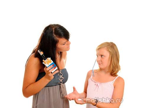 Вредные привычки у детей и подростков