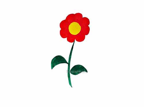 Как нарисовать цветы поэтапно для детей?