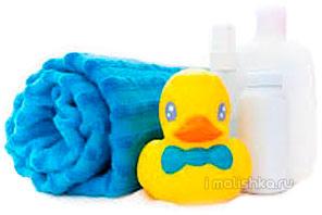 Средства для купания новорожденных
